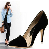 2014 spring pointed toe fashion high-heeled shoes shallow mouth shoes sandals