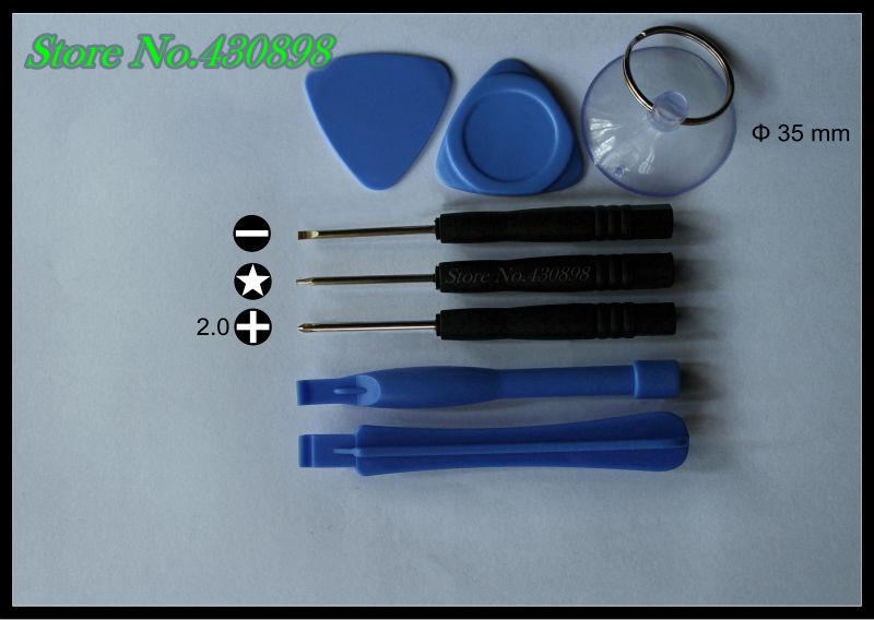 325 set / bag/ 8 pcs repair tools combination Magnetic slotted Phillips Torx crowbar screwdriver repair iPhone Blackberry(China (Mainland))