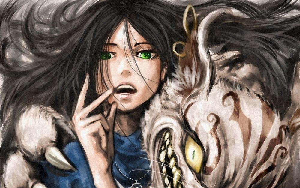 Print Anime Poster Alice Madness Returns Alice In Wonderland Alice