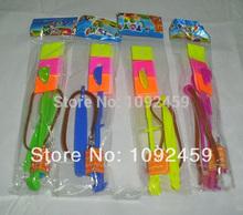 regalo de navidad caliente llevó flecha increíble helicóptero volando niños paraguas espacio juguetes ufo, lighte led juguetes(China (Mainland))