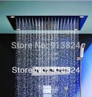 Wholesale Faucet polish finishing 60*80cm led luxury shower set faucet mixer