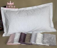 End of a single 100% cotton pillow case pillow cover cotton 100% 60 cotton satin