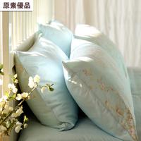 100% cotton pillow case 100% cotton pillow cover satin pillow cover single double pillow thickening