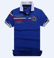 Free Shipping 2014 Slim Fit Shirts For Men Aeronautica Militare Air Force One Brand T-Shirt Polo Short Sleeve Shirt M-XXL