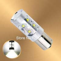 1156 BA15S 60W Auto Pure White Fog Tail Turn CREE LED S25 P21W  Light Bulb Lamp parking Reserve Lights car light source
