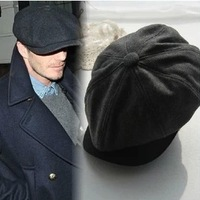 Beckham vintage autumn and winter woolen hat fashion beret cap