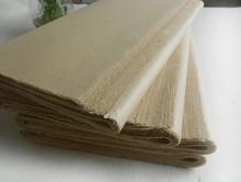O papel de arroz chinês 48 * 78 caligrafia os documentos necessários médio gumes deckle manual Pure ambos os lados áspero(China (Mainland))