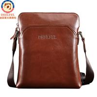 New Fashion Stylish genuine leather men messenger bag for Russian men