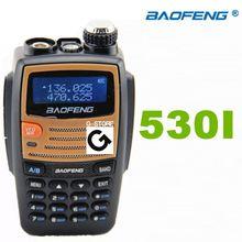 BAOFENG BF-530I  Walkie Talkie VHF/UHF 136-174/400-520MHz  Dual Band Radio Handheld Tranceiver portable Radio