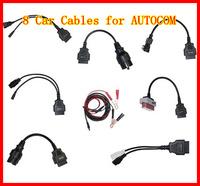 Car Cables for Autocom CDP Pro 8 pcs Full Set Car Diagnostic Cables Free Shipping