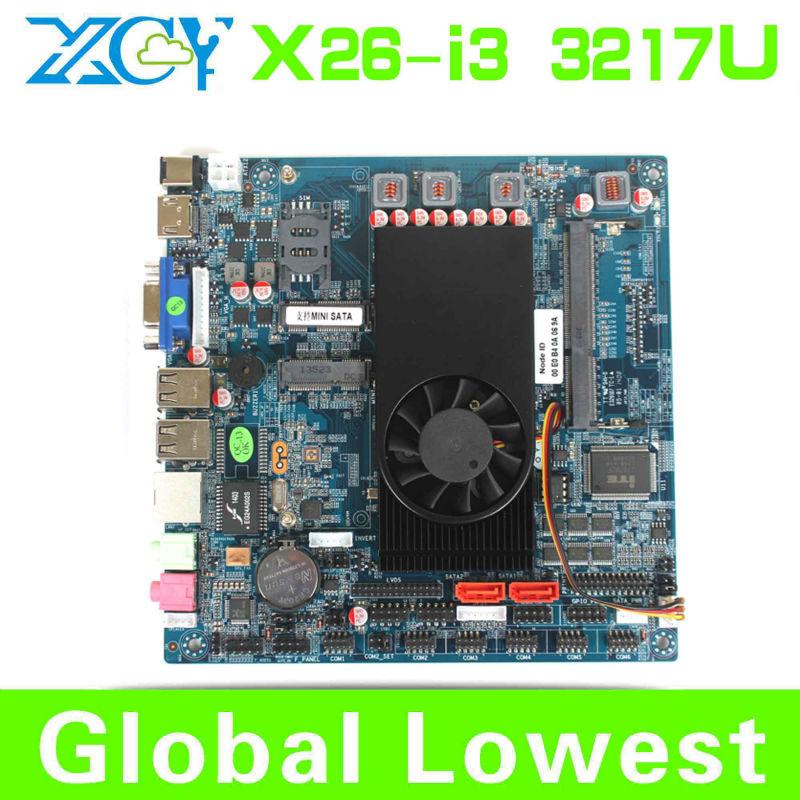 Mini motherboard tiny maiboard 3217U i3 mini laptop motherboard 1.8Ghz Intel NM70 Express DDR3 with HDMI/VGA/USB port(China (Mainland))