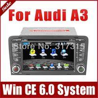 2-Din Car Radio Car DVD Player for Audi A3 2003-2010 GPS Navigation Bluetooth TV FM AM USB SD AUX Map Auto Audio Video Sat Nav