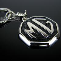Mg car emblem keychain mg6 mg3sw mgtf mg7 laser lettering 1