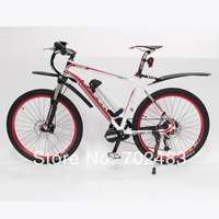 2014 Latest Mosso 619 48V 350W 8Fun Mid-Drive Motor Ebike+9-speed+48V 8Ah Battery