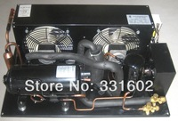 Hermetic air-cooled 1Hp Refrigeration Condensing Unit for small cold room supermarket cabinet showcase display