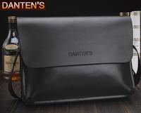 New 2014 Genuine Leather Men Bag Big Brand Shoulder Men Bags Messenger Holder For Documents Bag Men B26