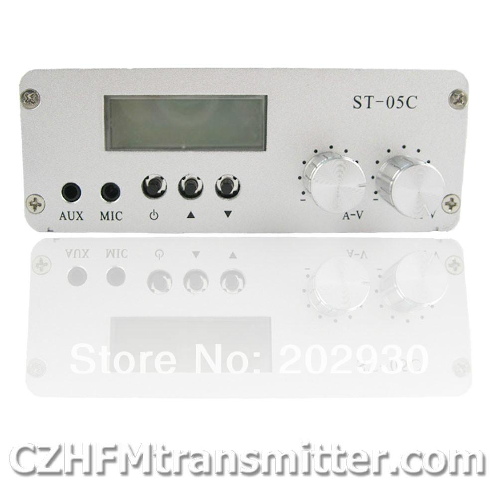 Fmuser ST-05C 0.1W 0.5W home FM transmitter stereo pll radio broadcast(China (Mainland))
