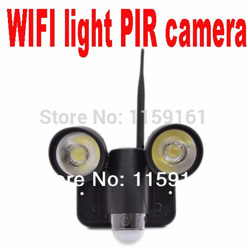 WIFI Motion detect PIR camera DVR home sentry LED light Camera DVR 3-in-1 video recording night vision 30 metre IP65 waterproof(China (Mainland))
