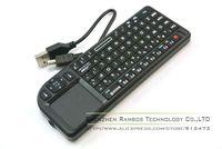 Mini Wireless Bluetooth Handheld Keyboard Touchpad Remote