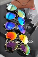 Hot , UV protection sunglasses men , women sunglasses , fashion sunglasses 3026 Color reflective lenses glass lens 62MM