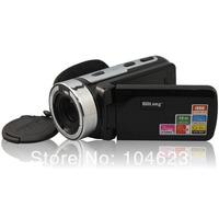 "2.7""TFT Wide Screen&Multi-functional Digital Video Camcorder 16MP 16X Zoom Black"