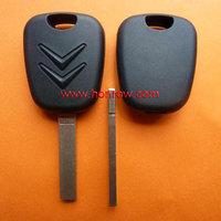 Citroen transponder key blank with 307 key blade
