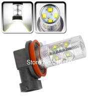 2pcs Cree LED H11 60W DRL White Lamp car Fog Head Bulb auto Vehicles parking Turn Signal Reverse Tail Lights car light source