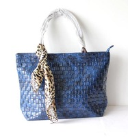A112(blue),new fashion lady hand bags,handbag,PU,6 different colorsSuitable for shopping,leisure,ornament,free shipping!