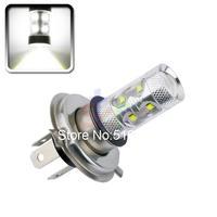 2pcs H4 60W Cree LED White cars Fog Head lights Bulb auto Lamp Vehicles Signal Tail parking car light source free shipping