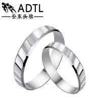S925 pure silver jewelry Urban fashion lovers to buddhist monastic discipline Classic shape ring