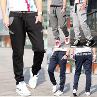 Free Shipping 2014 New Men Casual Sports Pants  loose male trousers Loungewear and nightwear Plus size sweatpants