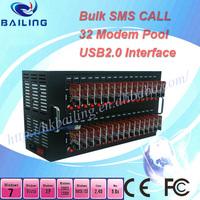 64 port sms modem with wavecom q2406 usb 2.0