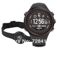 2014 Brand New GPS Navigation/ Heart Rate Monitor/ Compass Auto Time Zone/ Rechargeable/ Pedometer Dual Time Spovan Sports Watch
