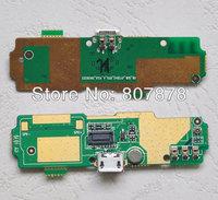 New original Micro USB Socket usb plug charge board for jiayu G4 cell phone + Free shipping