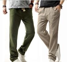 wholesale linen pants men