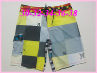 2014 New Arrival 90 Styles Brand sport men's Surf Boardshorts Beach Swim Elastic Shorts Free Shipping 30-38 gray blue red black