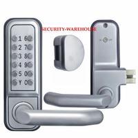 Mechanical lock of channel locks the door lock / password combination locks in 610 for glass and wooden door various thickness