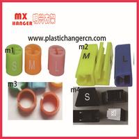plastic sizer,marker for hanger, hanger sizer