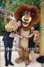 MASCOT CITY madagascar lion mascot costume custom fancy costume anime cosplay kits mascotte theme fancy dress
