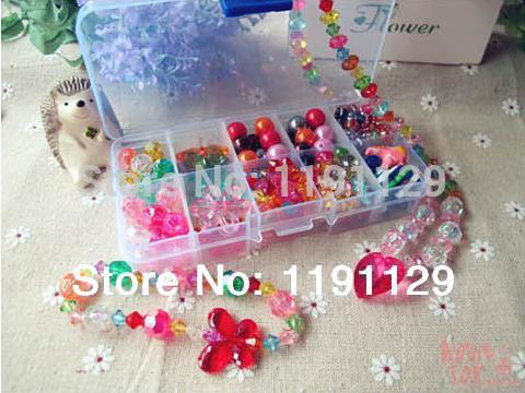 giocattoli fatti a mano perle di bambini giocattoli per il fai da te bigiotteria utilità apprendimento ed educazione giocattoli regali per le ragazze