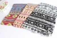 Maya scarf soft skin-friendly silk scarf 100% cotton beach towel cape autumn and winter national trend