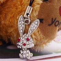 Cell phone accessories pendant accessories cartoon big ears rabbit