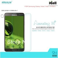 NILLKIN Amazing H+ Nanometer Anti-Explosion Tempered Glass Screen Protector For Samsung Galaxy Note 3 Neo N7505 ,1PCS free ship