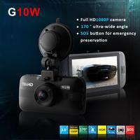 2014 New G10W H.264 Novatek 96650 Car Black Box DVR G-Sensor FHD 1080P 30FPS w/3.0' LCD/Rear Camera/170 Degrees Wide Lens