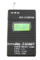 Freeshipping Mini radio frequency meter with CTCSS/DCS decoder ,Handheld Portable Frequency Counter RK-560 text walkie talkie