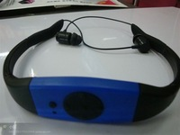 Waterproof MP3 Player 4GB USB2.0 head MP3  swimming and diving underwater FM IPX8 waterproof MP3 Music Player