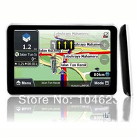 5 Inch Slim Car GPS Navigation Touch Screen Build in 4G Memory+Latest Map 910