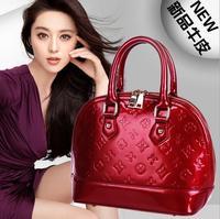 New fashion leather shell bag ladies handbag leather handbag shoulder bag for woman +free shipping !!!