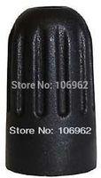 TPMS Tire Valve Cap 100 pcs/lot Black Plastic Valve Cover for 20018 & 20008 TPMS stems Retail & wholesale ChinaPost FreeShipping