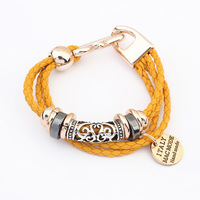 2014 Spring New Popular European and American Popular Color braided Bangles,Bracelets For Women~PB313